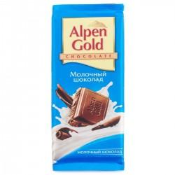 "Шоколад ""Альпен Голд"" молочный 90 гр."