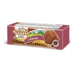 Печенье сахарное с какао кг.