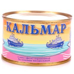 Кальмар натур. ж/б 240 гр.