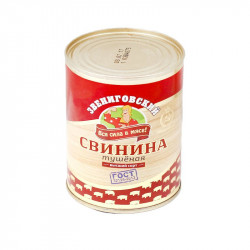 "Свинина тушеная ""ЗВЕНИГОВСКАЯ"" ГОСТ 338 гр."