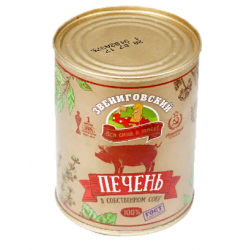 """Печень свиная """"ЗВЕНИГОВСКАЯ"""" ГОСТ 340гр"""