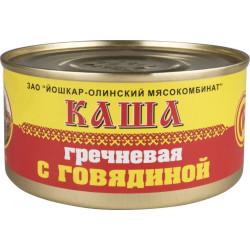 """Каша гречневая со свининой """"ЙОШКАР-ОЛА"""" ГОСТ 325 гр."""