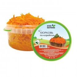 Морковь по-корейски 350 гр.