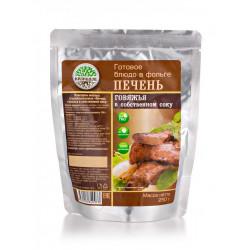 """Печень говяжья в с/с """"Кронидов"""" 250 гр."""