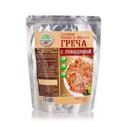 """Греча с говядиной """"Кронидов"""" 250 гр."""