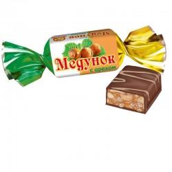 Конфеты Медунок с орехом Славянка 1 кг.