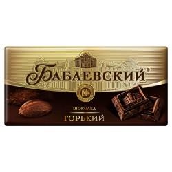 """Шоколад """"Бабаевский"""" горький 100 гр."""