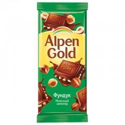 """Шоколад """"Альпен Голд"""" фундук 90 гр."""
