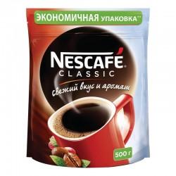 """Кофе """"Нескафе"""" классик растворимый 500гр"""