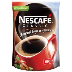 """Кофе """"Нескафе"""" Классик  растворимый 150 гр"""