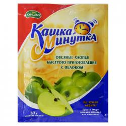 Овсяная Кашка-Минутка  с яблоками 37г