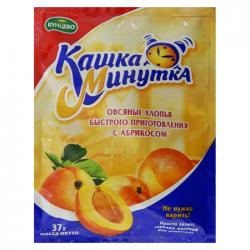 Овсяная Кашка-Минутка  с абрикосами 37г