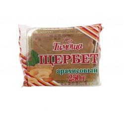 Щербет Тимоша арахисовый 250гр