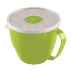 Чашка пластик с крышкой 720 мл.
