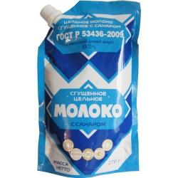 """Молоко сгущ. """"Верховский"""" с сах. ГОСТ 8,5% 270 гр."""