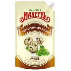 Майонез Махеев с переп. яйцом 400 гр.