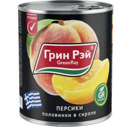 Персики в сиропе 850 мл.