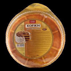 Коржи бисквитные 400 гр.