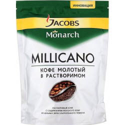 """Кофе """"Якобс"""" Монарх Millicano пакет 75 гр."""