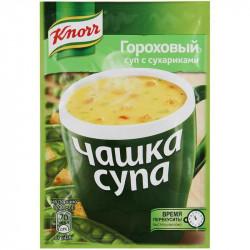 Гороховый суп с сухариками 16 гр.
